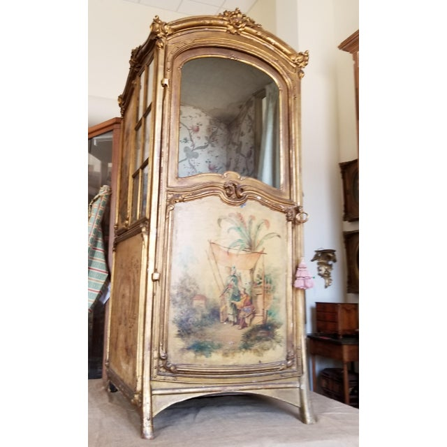 French 19th Century Italian Sedan Chair For Sale - Image 3 of 12