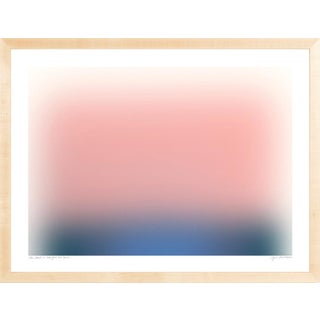 Color Cloud 12 Contemporary Abstract Print by Jessica Poundstone, Framed For Sale