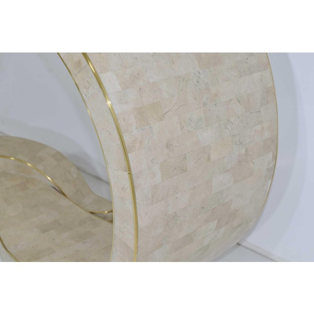 Maitland - Smith Maitland Smith Tessellated Marble Console For Sale - Image 4 of 11