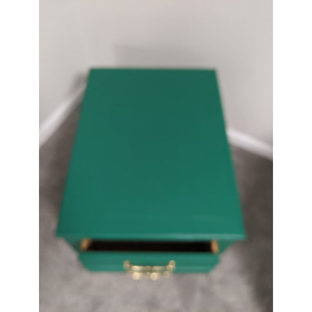 Traditional Mid Century Lane Coffee Table/Night Stand For Sale - Image 3 of 11