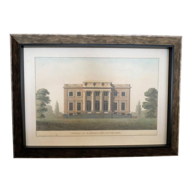 Architectural Rendering With Resin Frame - Image 1 of 5