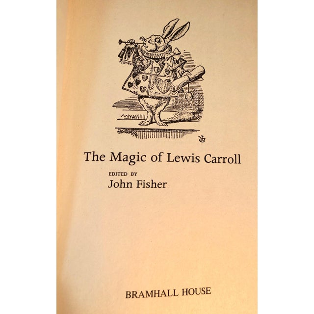 1970s 1973 The Magic of Lewis Carroll Hard Cover Book For Sale - Image 5 of 9