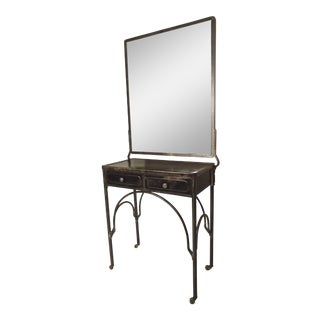 Metal Industrial Style Vanity For Sale