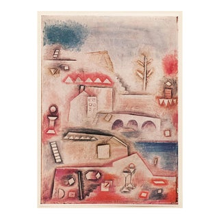 "1955 Paul Klee ""Place of Discovery"", First Edition Lithograph For Sale"