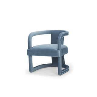 Rory Side Chair in Dust Blue Preview