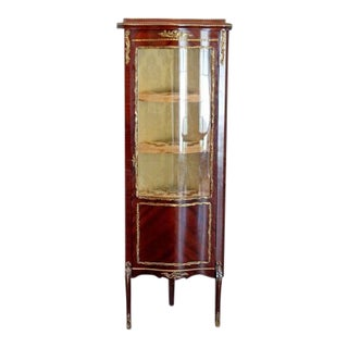 1900s Victorian Rare Corner Unit Cabinet For Sale