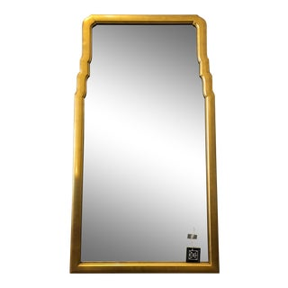 Vintage Gilded Regency Style Wall Mirror For Sale