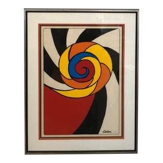 Original Alexander Calder Numbered Print For Sale