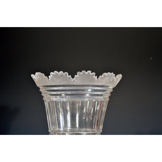 Regency Glass Large Celery Vase, Circa 1820. For Sale In Philadelphia - Image 6 of 7