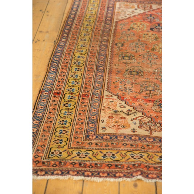 """Late 19th Century Antique Qashqai Rug - 4'11"""" X 6'4"""" For Sale - Image 5 of 13"""