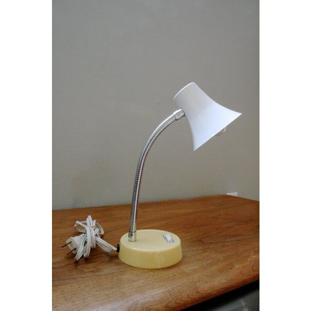 Mid 20th Century Mod Gooseneck Desk Lamp For Sale In Seattle - Image 6 of 6