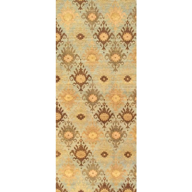 Ikat rugs are Oriental rugs made with highly decorative, multicolored traditional Asian tie-dye designs also known as Ikat...