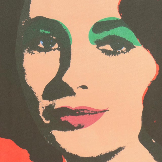 Andy Warhol Liz', After Andy Warhol, 1969; Elizabeth Taylor, Hollywood, Pop Art, Chelsea, New York, the Factory For Sale - Image 4 of 8