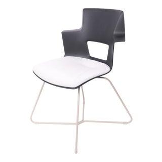 Modern Metal Shortcut X Base Chair For Sale