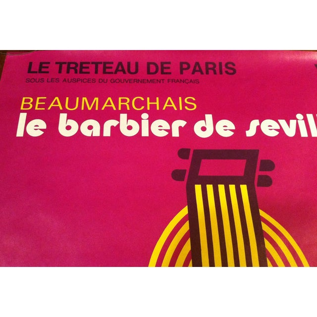 "French""Barbier De Seville"" Lenglart Lithograph - Image 3 of 6"