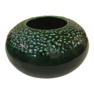 Mid-Century Royal Leslie Haeger Green Ceramic Planter