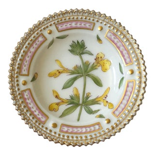 Royal Copenhagen Flora Danica Butter Pat/Caviar Dish, Number 20/3501 For Sale