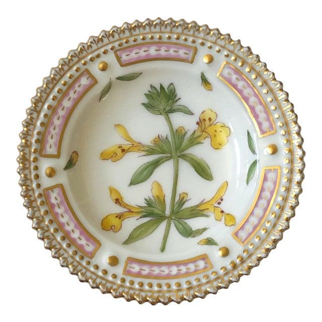 Royal Copenhagen Flora Danica Butter Pat/Caviar Dish, Number 20/3501 For Sale
