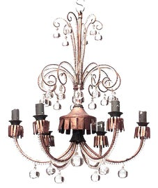 Image of Art Nouveau Chandeliers