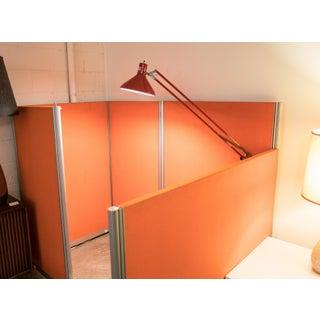 Herman Miller Mid Century Orange Cubical Preview