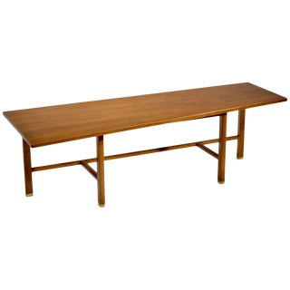 Trapezoid Top Wormley for Dunbar Coffee Table For Sale