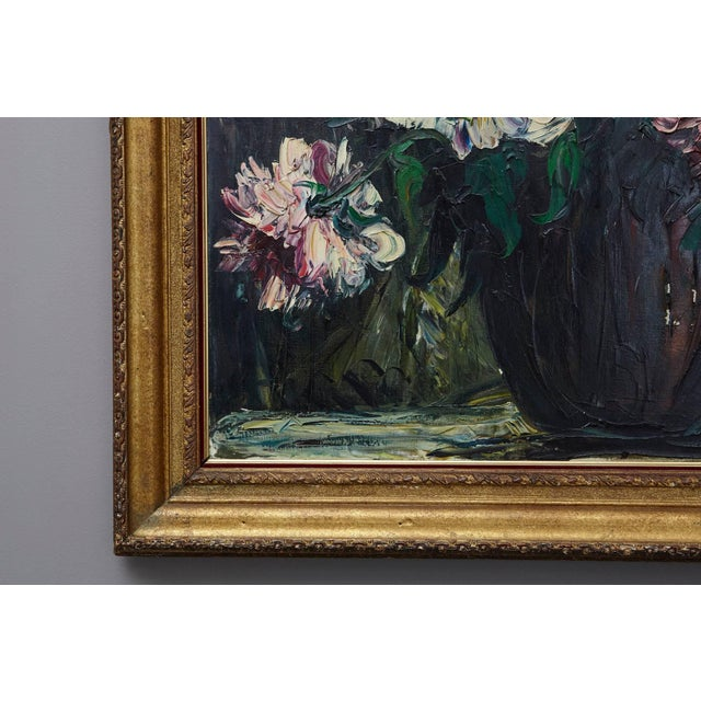 Mid-Century Modern Emeric Vagh-Weinmann, Peonies, 1964 For Sale - Image 3 of 11