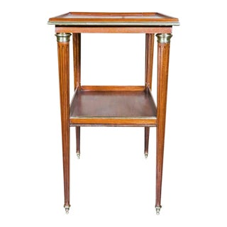 Louis XVI Mahogany Side Table For Sale