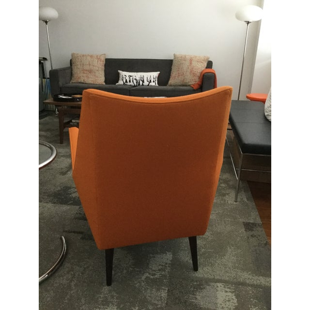 Mid-Century Modern Paul McCobb Orange Squirm Chairs - a Pair For Sale - Image 3 of 5