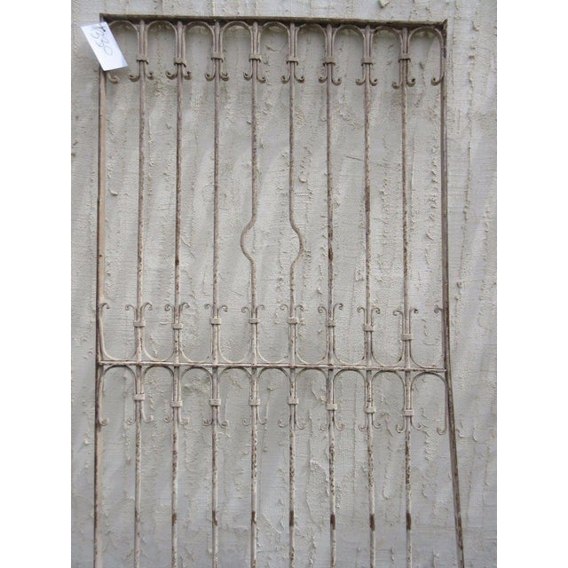 Antique Victorian Iron Gate Architectural Salvage - Image 6 of 6
