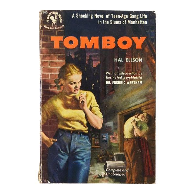 """""""Tomboy"""" Hal Ellson Bantam 1951 Vintage Pulp Paperback Book - Image 1 of 4"""