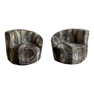 Kagan Style Lounge Chairs- a Pair For Sale
