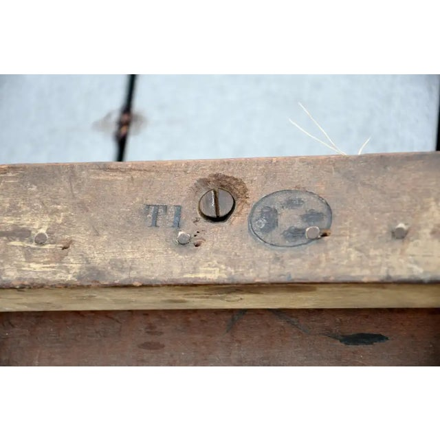 Wood Early 19th Century French Imperial Empire Tabouret Ordered for the Tuileries For Sale - Image 7 of 10