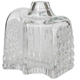 Willem Heesen Manhattan Series Glass Vase for Leerdam Unica