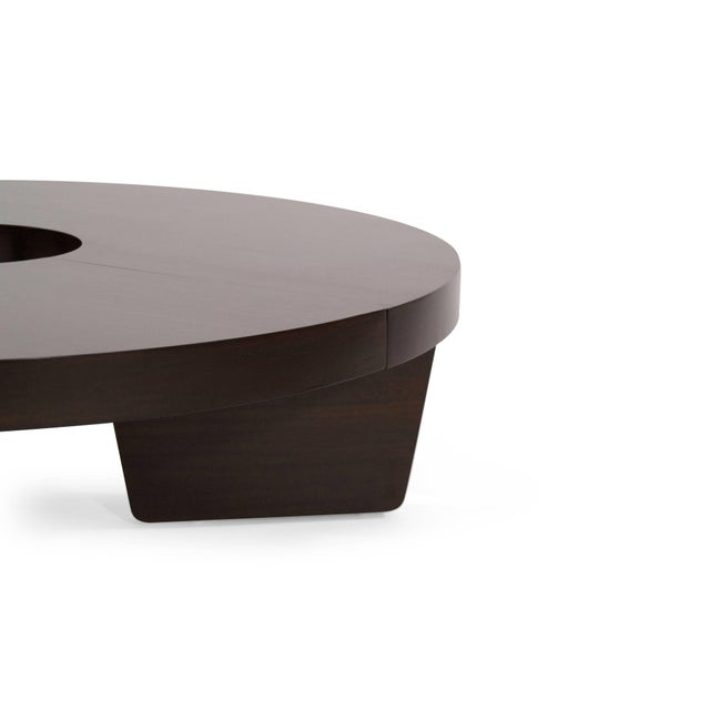 Brown Mahogany Harvey Probber Nucleus Coffee Table, 1952 For Sale - Image 8 of 10
