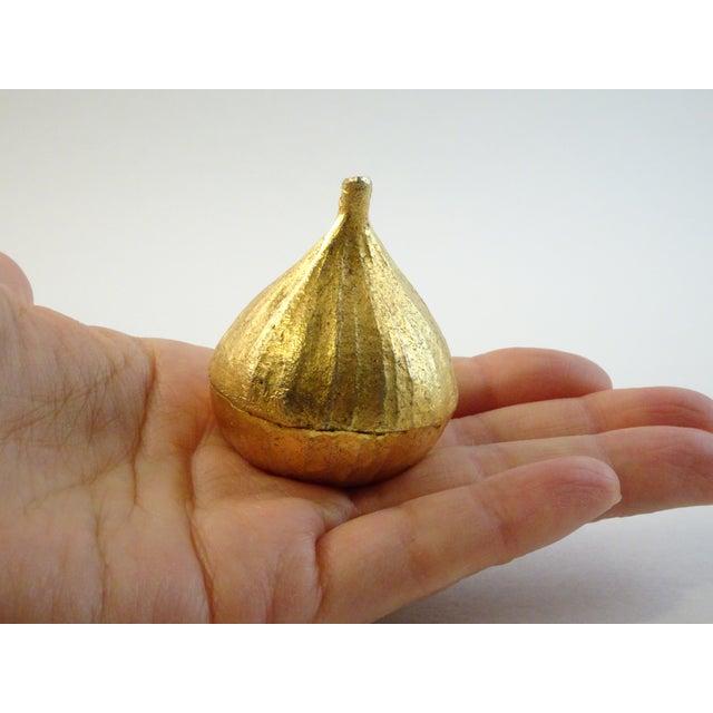 Vintage Gold Fig Pill Case - Image 3 of 11