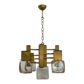 Articulated Mazzega Chandelier For Sale