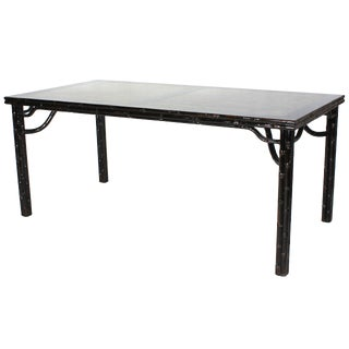 Sarreid LTD Chinese Marble Top Dining Table For Sale