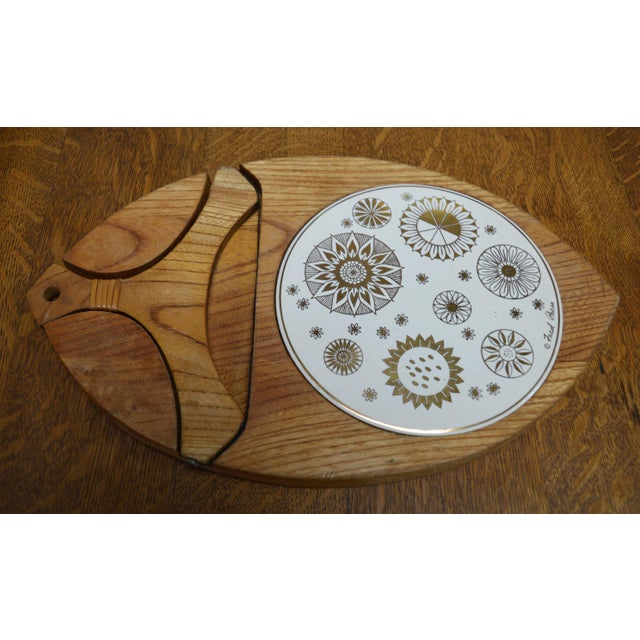 Mid-Century Modern Cheese Board - Image 2 of 7