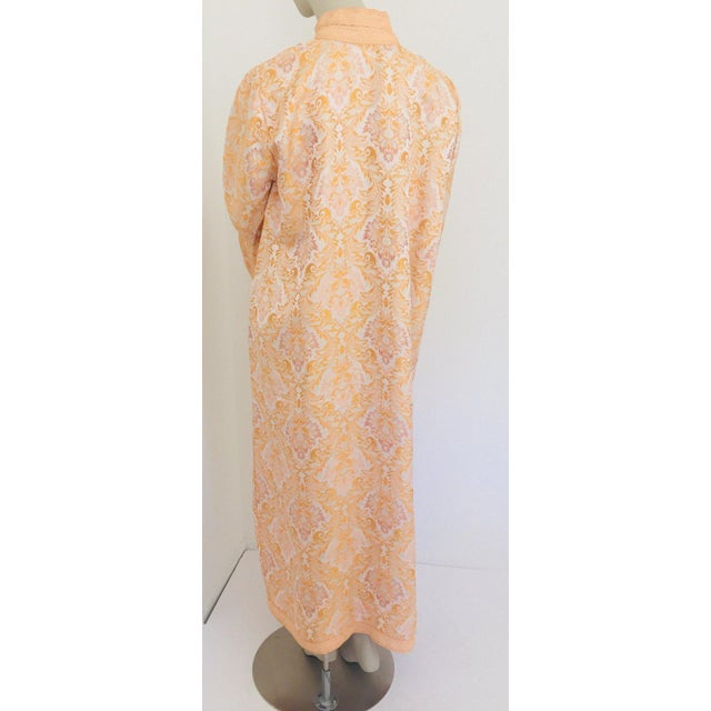 Moroccan Caftan in Gold Brocade For Sale - Image 11 of 13