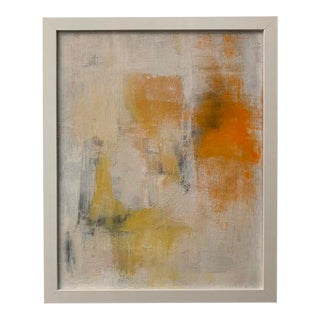 Original Abstract Framed Painting For Sale