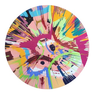 Spin Series II Contemporary Painting For Sale