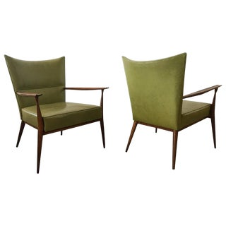 "1950s Paul McCobb ""Pull-Up"" Armchairs - Set of 2 For Sale"