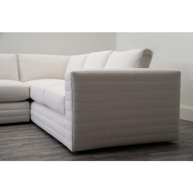 Transitional Evars Collective: Bowery Sectional Sofa For Sale - Image 3 of 4