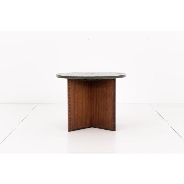 Heritage-Henredon Frank Lloyd Wright Side Table For Sale - Image 4 of 10