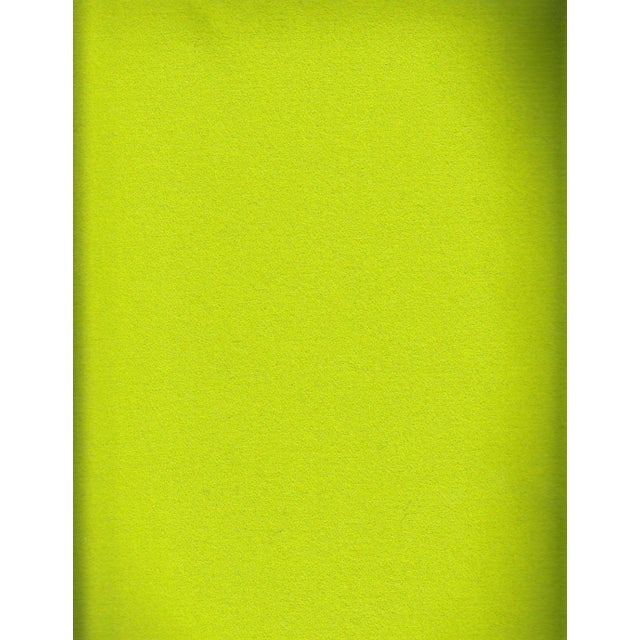 Maharam Kvadrat Kiwi Green Divina Wool - 2 Yards - Image 2 of 2