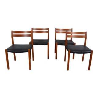 J.L. Moller Teak Dining Chairs - Set of 4 For Sale