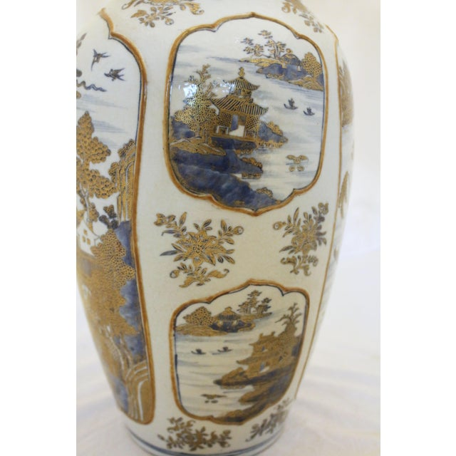 Mid 18th Century 18th Century Chinese Qing Dynasty Covered Jars - a Pair For Sale - Image 5 of 9