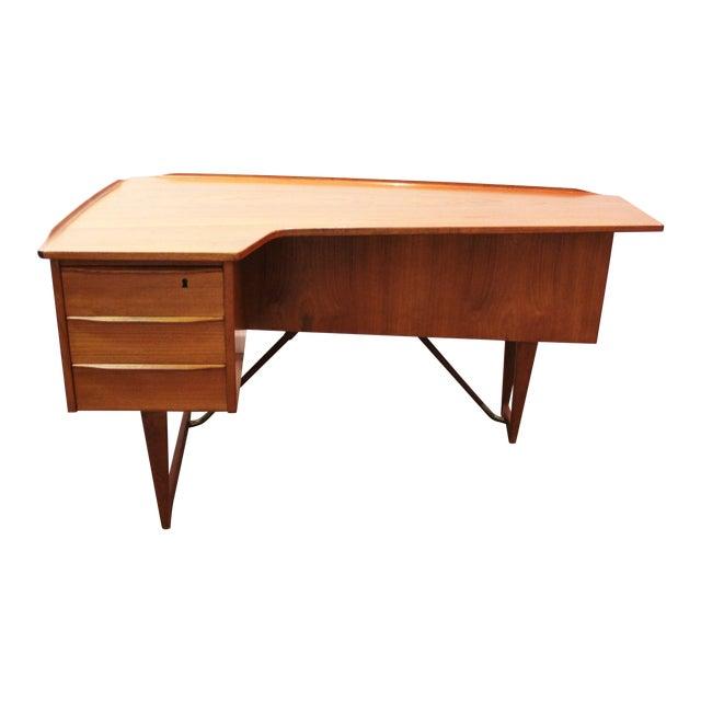 Peter Lovig Nielson Danish Modern Boomerang Desk - Image 1 of 11