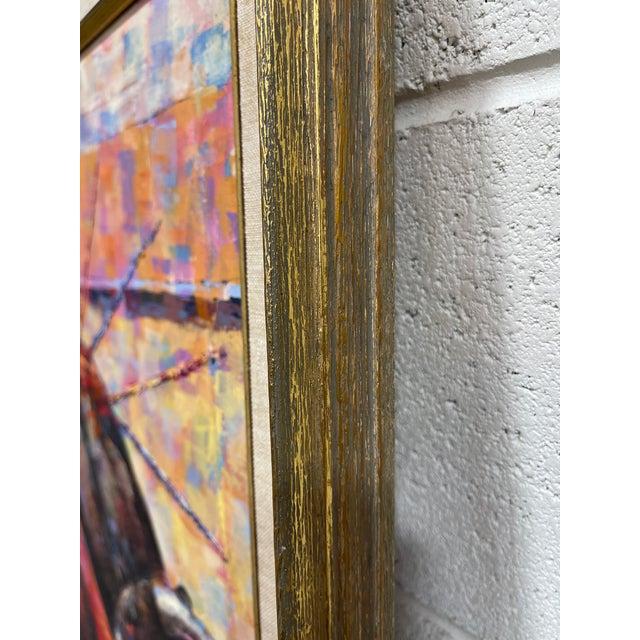 Epifanio Ortega Original Matador Painting For Sale - Image 11 of 13