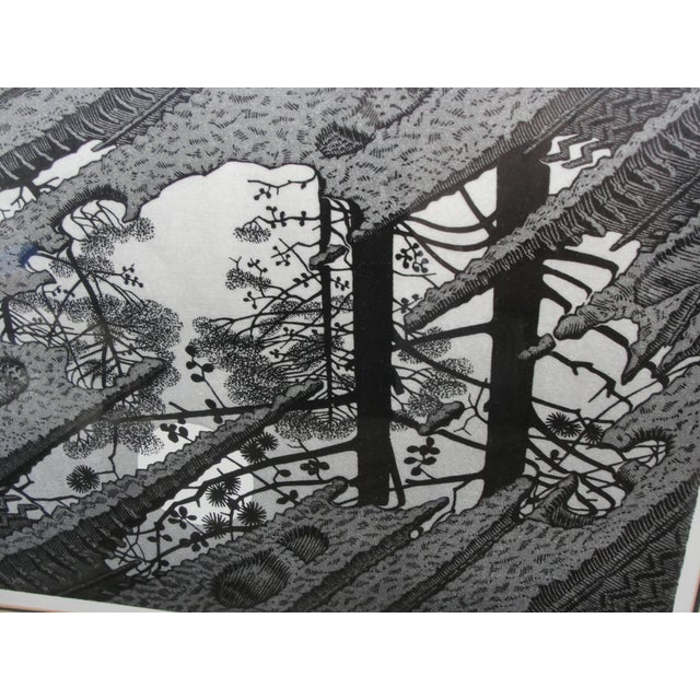 Vintage 'Puddle' Print by M.C. Escher For Sale In Tampa - Image 6 of 8
